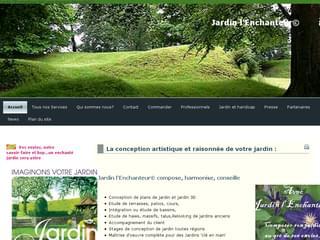 http://www.jardin-l-enchanteur.fr est réalisé avec Cms Made Simple
