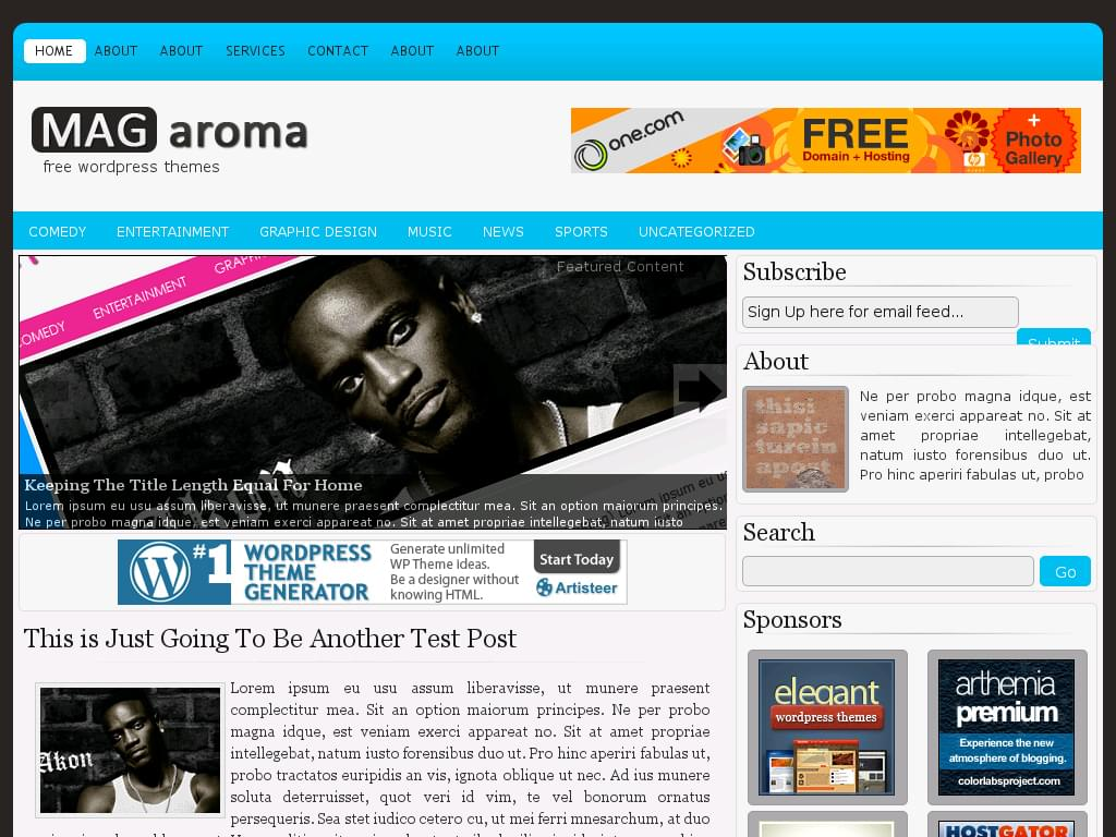 theme wordpress magazine