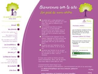 http://www.aupieddemonarbre.fr/ est réalisé avec Cms Made Simple