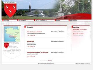 http://www.mairie-severac.fr/ est réalisé avec Cms Made Simple