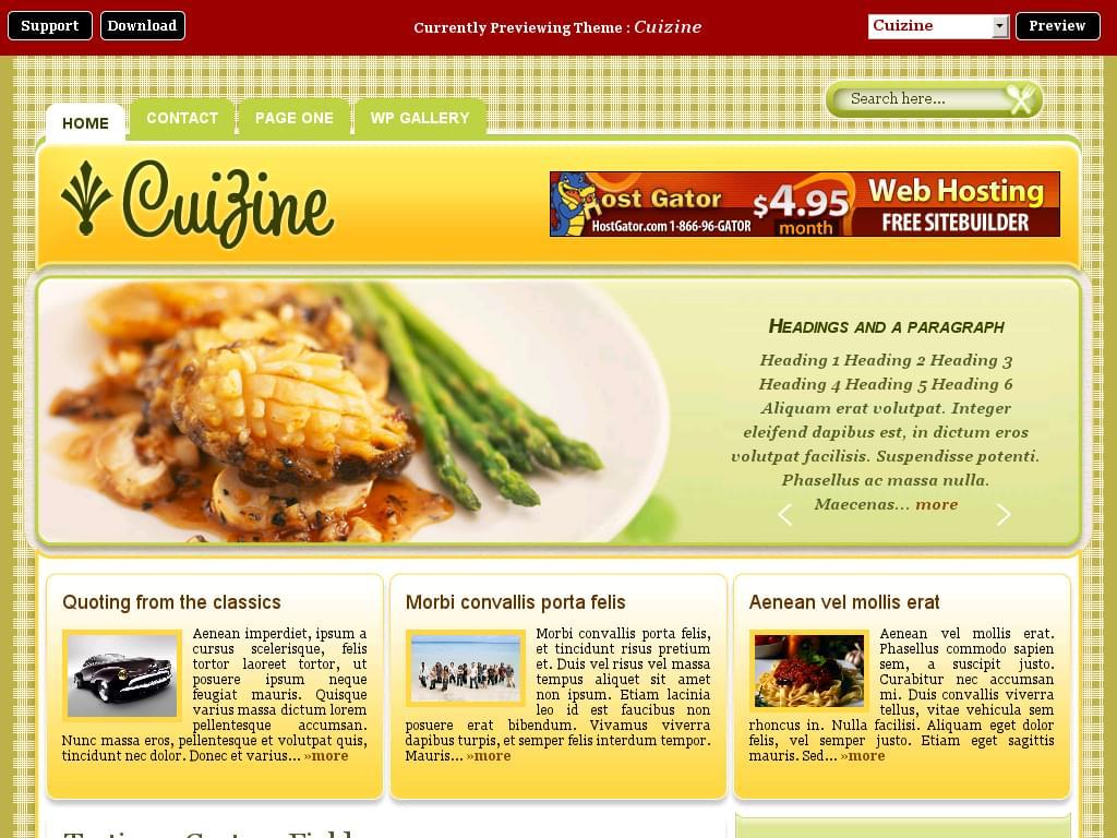 site de cuisine gratuit