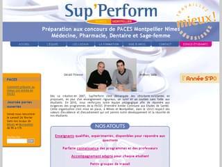 http://www.sup-perform.fr est réalisé avec Cms Made Simple