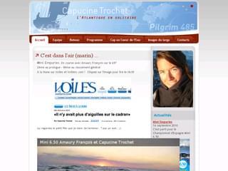 http://www.capucinetrochet.com/ est réalisé avec Cms Made Simple