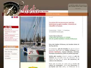 http://www.abelia-gite-vendee.com/ est réalisé avec Cms Made Simple