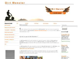 http://www.dirt-monster.fr/ est réalisé avec Cms Made Simple