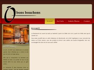 http://www.obonsbouchons.fr/ est réalisé avec Cms Made Simple