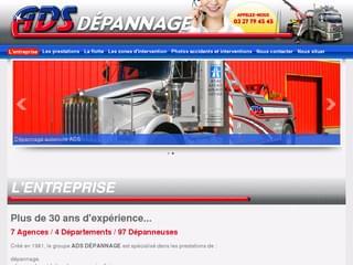 http://www.ads-depannage.fr est réalisé avec Cms Made Simple