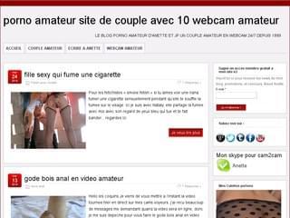 webcam sexe avec de vrais amateurs