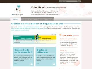 http://www.erika-hugel.fr est réalisé avec Cms Made Simple