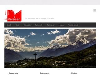 http://www.levalaisan.ch est réalisé avec Cms Made Simple