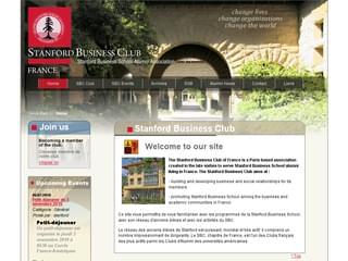 http://www.stanford-business-club.asso.fr/ est réalisé avec Cms Made Simple