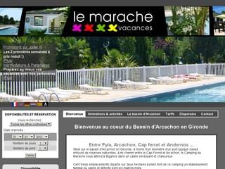 http://www.marachevacances.com est réalisé avec Cms Made Simple