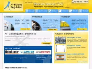 http://www.air-fluides-regulation.fr est réalisé avec Cms Made Simple