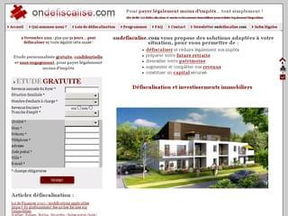 http://www.ondefiscalise.com est réalisé avec Cms Made Simple