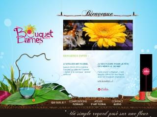 http://www.aubouquetdesdames.fr/site/ est réalisé avec Cms Made Simple