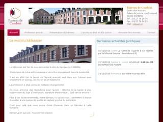 http://www.avocats-cambrai.com est réalisé avec Cms Made Simple