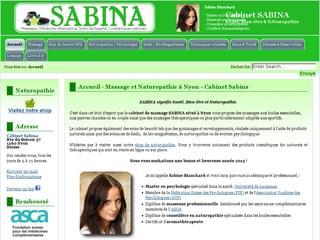 http://www.cabinet-sabina.ch/ est réalisé avec Cms Made Simple