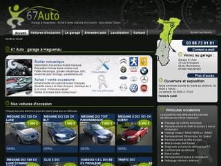 http://www.67auto.com est réalisé avec Cms Made Simple