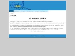 http://kristell.jaouen.info est réalisé avec Cms Made Simple