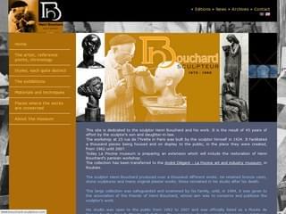 http://www.bouchard-sculpteur.com est réalisé avec Cms Made Simple