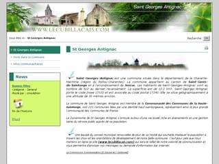 http://www.lecubillacais.com/ est réalisé avec Cms Made Simple