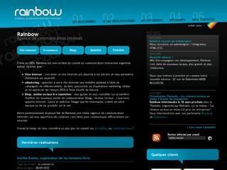 http://www.rainbow-studio.net/ est réalisé avec Cms Made Simple