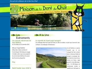 http://www.dentduchat.com est réalisé avec Cms Made Simple