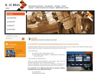 http://www.rlebras.com/ est réalisé avec Cms Made Simple