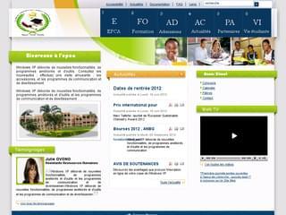 http://www.epca-gabon.com est réalisé avec Cms Made Simple