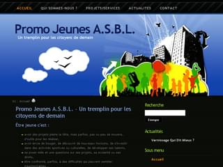 http://www.promojeunes-asbl.be est réalisé avec Cms Made Simple
