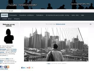 http://www.julien-brachhammer.com est réalisé avec Cms Made Simple