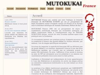 http://www.mutokukai-france.org/ est réalisé avec Cms Made Simple