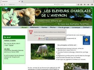 http://www.charolais-aveyron.com/ est réalisé avec Cms Made Simple