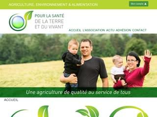 http://www.sante-terre-vivant.com est réalisé avec Cms Made Simple