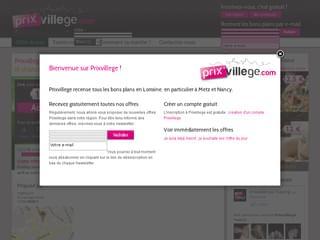 http://www.prixvillege.com est réalisé avec Cms Made Simple