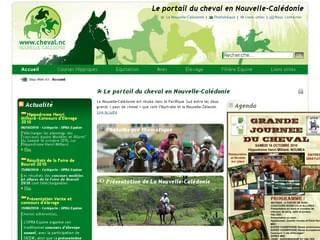 http://www.cheval.nc/ est réalisé avec Cms Made Simple