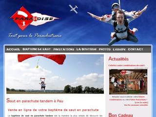 http://www.paradise64.fr est réalisé avec Cms Made Simple