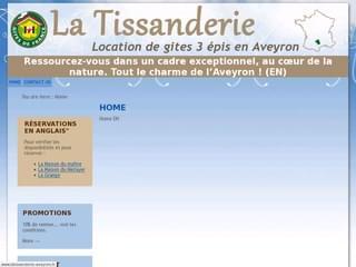 http://www.latissanderie-aveyron.fr/ est réalisé avec Cms Made Simple