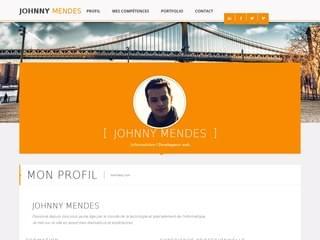 http://www.mendesj.com est réalisé avec Cms Made Simple