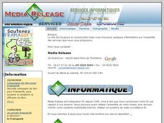 http://www.media-release.net est réalisé avec Cms Made Simple