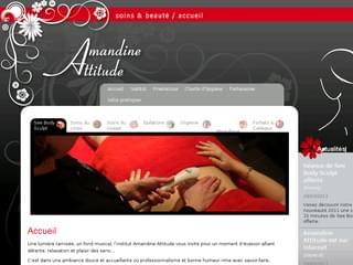 http://www.amandine-attitude.fr est réalisé avec Cms Made Simple
