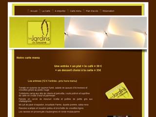 http://www.lesjardinsdetoscane.be est réalisé avec Cms Made Simple