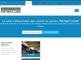 http://www.partnerscard.ch est réalisé avec Cms Made Simple