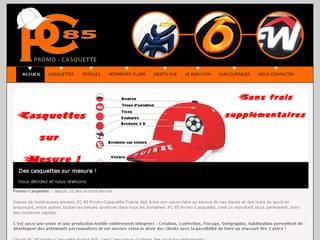 http://www.promo-casquette.fr/ est réalisé avec Cms Made Simple