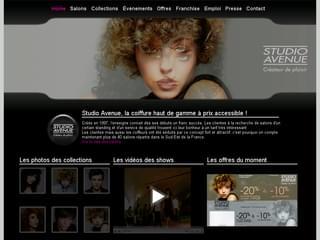 http://studio-avenue.fr est réalisé avec Cms Made Simple
