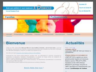 http://www.aide-familles-domicile.fr est réalisé avec Cms Made Simple