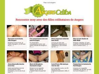 Rencontres coquines sur la ville d'Angers