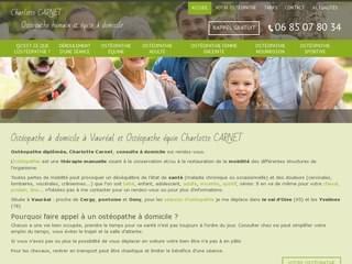 SANTé : Ostéopathe à domicile Vauréal