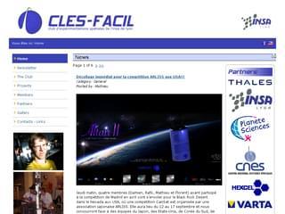 http://clesfacil.insa-lyon.fr/public/index.php est réalisé avec Cms Made Simple