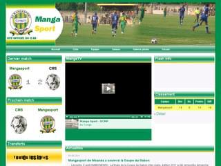 http://www.mangasport.com est réalisé avec Cms Made Simple